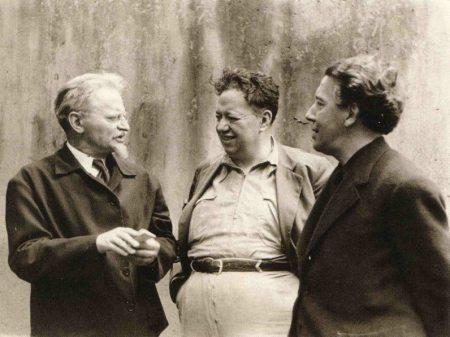 Τρότσκι, Ριβέρα και Μπρετόν.