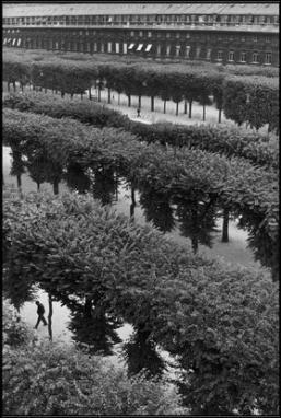 FRANCE. Paris. The Palais Royal Gardens. 1959.