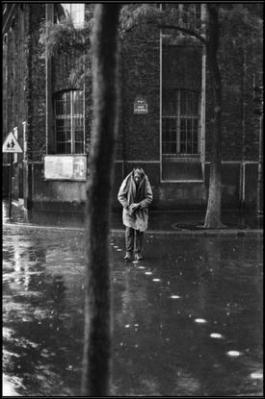 FRANCE. Paris. 14th arrondissement. Rue d'AlŽsia. Swiss painter and sculptor, Alberto GIACOMETTI. 1961.