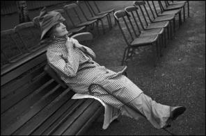 GREAT BRITAIN. England. London. Hyde Park in the grey drizzle. 1937.
