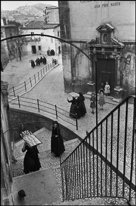 ITALY. Abruzze. Village of Aquila. 1951.