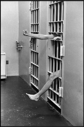 UNITED STATES. New Jersey. 1975. Model prison of Leesbury. Solitary confinement.