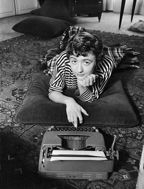 Françoise Sagan, 1955