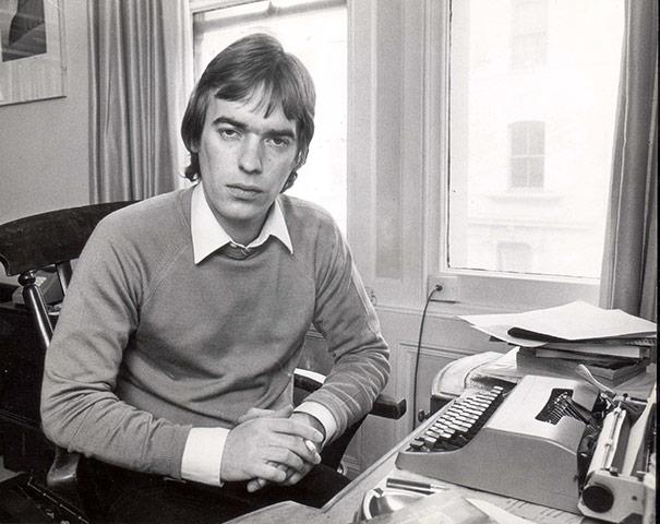 Martin Amis in 1981.