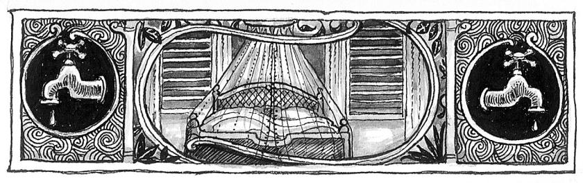 Της Εύης Τσακνιά, από την εικονογράφηση του «Εξώστη» (Κίχλη)