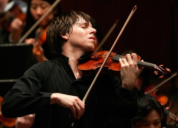 Joshua Bell.</p><p>Photo by Chris Lee