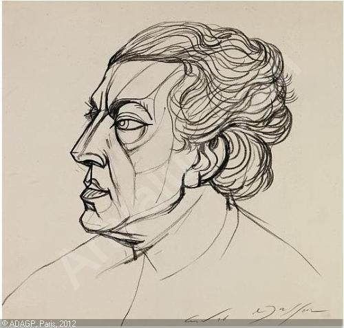 Ο André Breton από τον André Masson