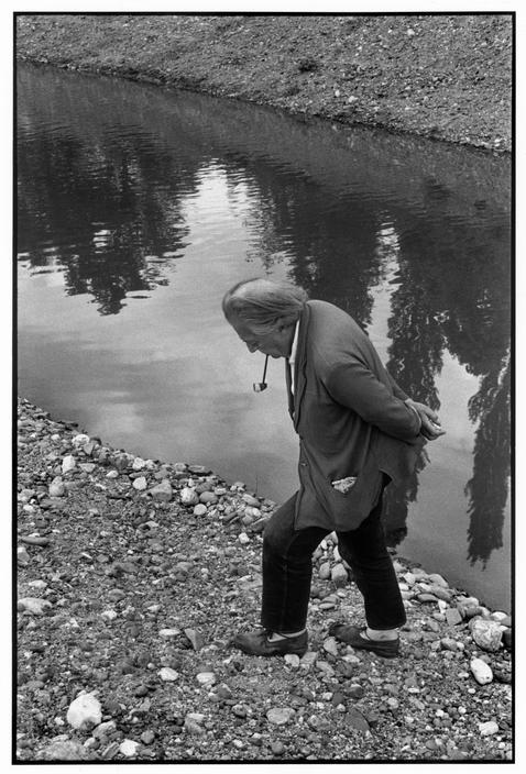 Ο André Breton από τον  Henri Cartier-Bresson, 1961, Magnum photos