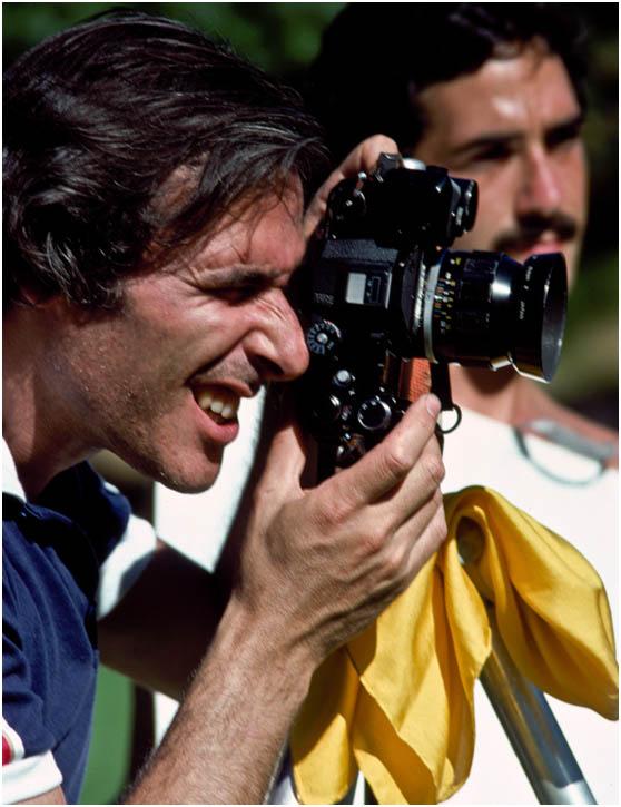 Ο Bill κάνει τη δουλειά του στο Louisville του Kentucky, φωτογραφημένος από τον μαθητή του Wayne Eastep, μέσα δεκαετίας '70.