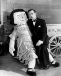 Buster Keaton with Doll
