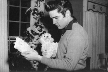 Elvis Presley and Foxhugh