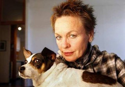 Laurie Anderson and Lola Belle