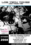 LOB Tech Tones - poster - Jazz For Holiday - Settembre 2008
