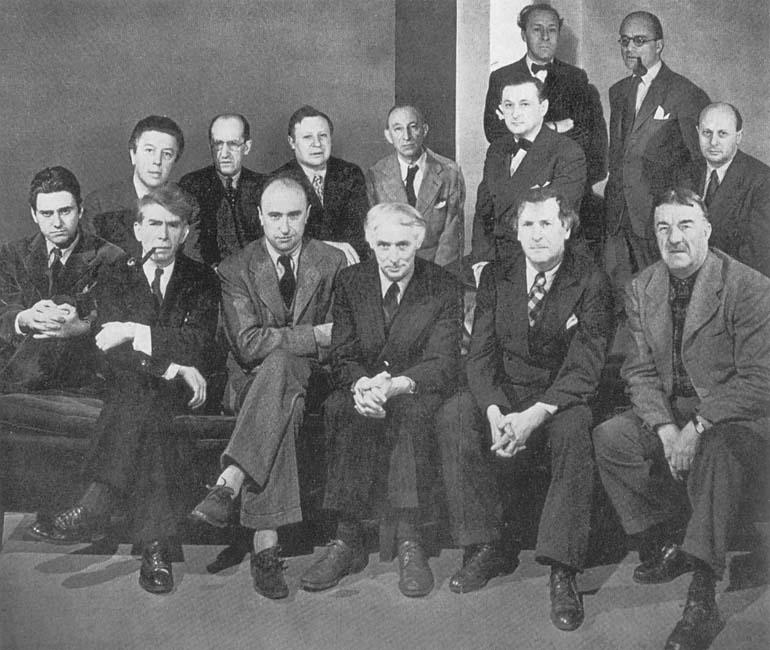 Μάρτιος 1942 στη Νέα Υόρκη, Ossip Zadkine, Yves Tanguy, Max Ernst, Marc Chagall, Fernand Léger