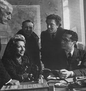 Max Ernst, Jacqueline (Lamba) Breton, André Masson
