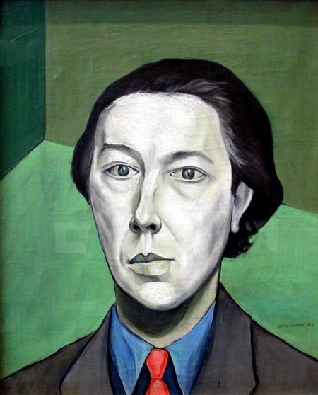 Ο André Breton από τον Victor Brauner, 1934