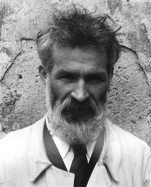 Ο Constantin Brâncuşi από τον Edward Steichen