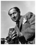 Alfred Eisenstaedt with the Rolleiflex