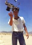Brad Pitt throwing a camera