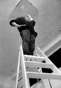 Ceiling Painting (YES Painting), Yoko Ono, 1966 Flirck
