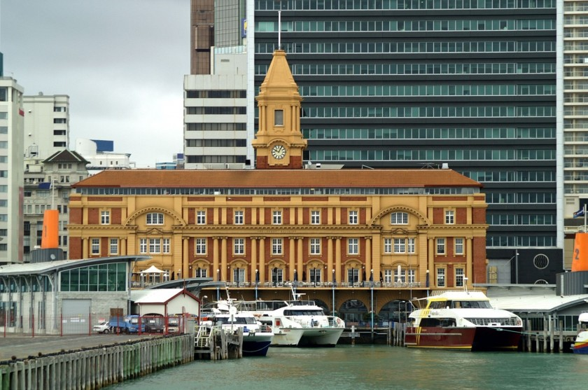 Το Auckland Ferry Building