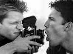 Matt Damon & Ben Affleck with an MF Camera