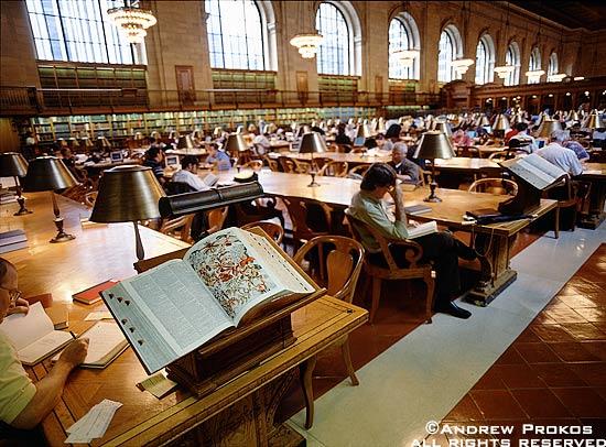 public-library-interior