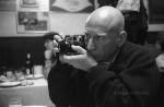 Sebastião Salgado with a Leica.