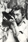 Serge Gainsbourg with a Nikon F2 by Pierre Terrason