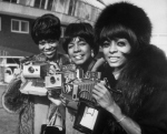 The Supremes with Polaroids
