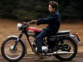 Bob Dylan - Triumph Tiger 100 (1964)