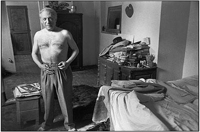 Ο Picasso από τον Henri Cartier-Bresson