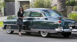 Dita Von Teese - Cadillac Fleetwood