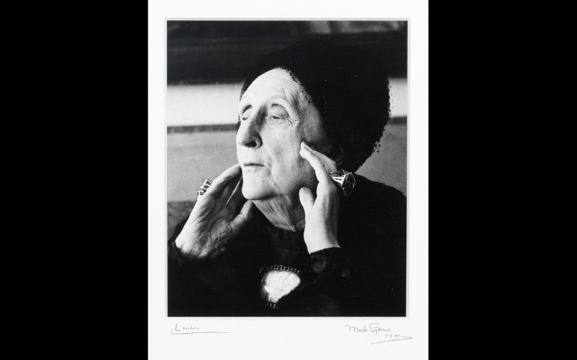 Edith Sitwell photographed in 1962.