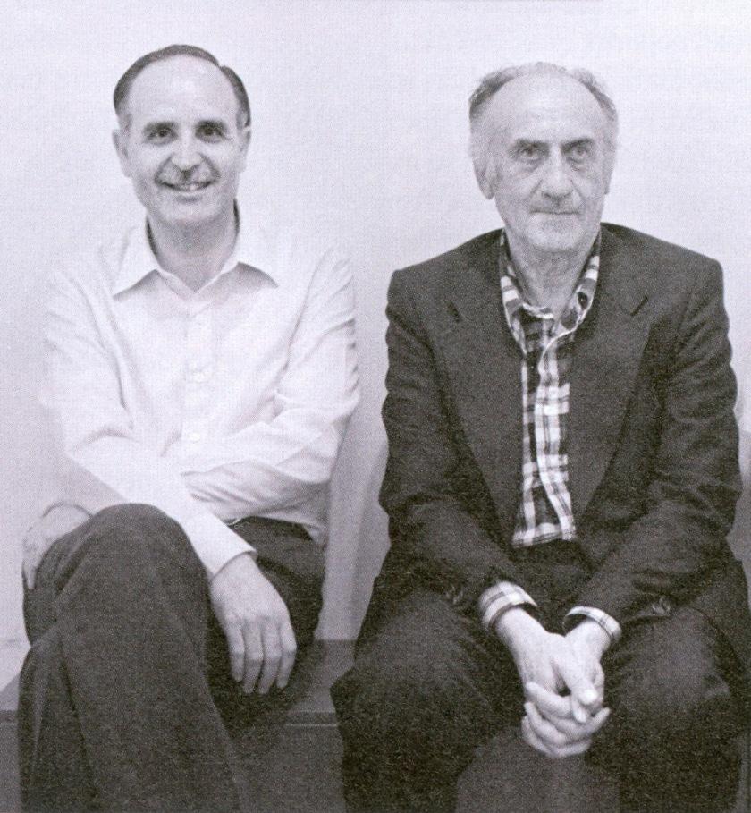 Ντίνος Χριστιανόπουλος και Κάρολος Τσίζεκ