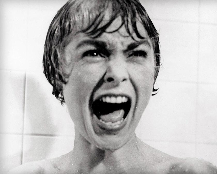 Η Janet Leigh στο Ψυχώ