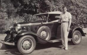 Johnny Weismuller 1932 Chevrolet Speedster