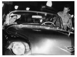 Liz Taylor, Richard Burton - Cadillac
