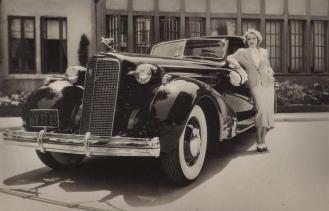 Marlene Dietrich 1936 Cadillac