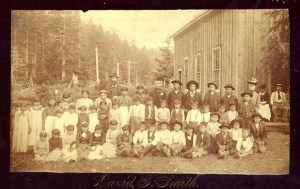 Quileute Children and Teachers, La Push, Ca. 1887