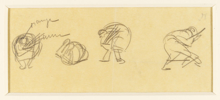 Valentine Gross drawing VAM collection