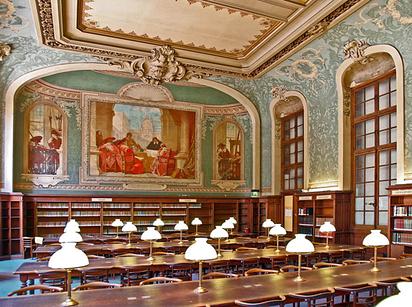 03 Reading Room at La Sorbonne — Paris, France
