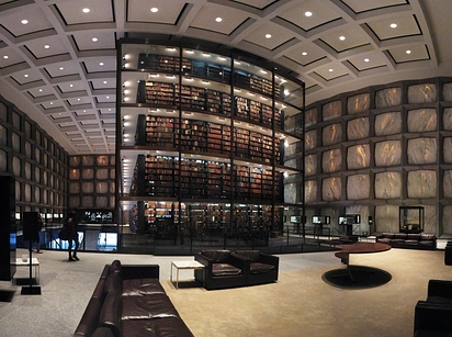 04 Beinecke Rare Book and Manuscript Library at Yale University — New Haven, Conn. b