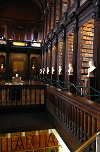 06 Trinity College Library at University of Dublin — Dublin, Ireland b