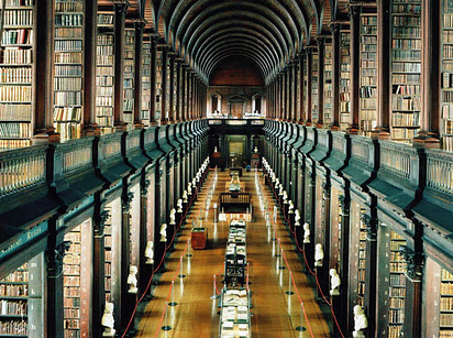 06 Trinity College Library at University of Dublin — Dublin, Ireland