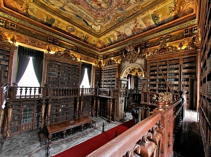 09 General Library at University of Coimbra — Coimbra, Portugal