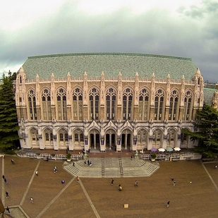 10 Suzzallo Library at University of Washington, Seattle — Seattle, Wash. b