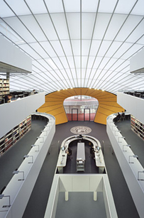 "11 Philological ""Brain"" Library at the Free University — Berlin, Germany b"