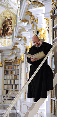 13 Library at the Benedictine Monastery of Admont — Admont, Austria b