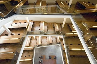 14 Library at Pontifical Lateran University — Rome, Italy b